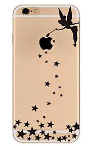 Pour Ultrafine Motif Coque Coque Arrière Coque Femme Sexy Flexible PUT pour Apple iPhone 7 Plus iPhone 7 iPhone 6s Plus/6 Plus iPhone 6s/6