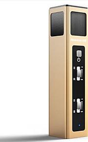 Newmine NM-201 Com Fios Microfone de Karaoke 3.5mm Dourado