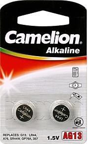 camelion ag13 coin knoopcel alkaline batterij 1.5v 2 Pack