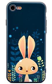 Pour Motif Coque Coque Arrière Coque Animal Flexible PUT pour Apple iPhone 7 Plus iPhone 7 iPhone 6s Plus iPhone 6 Plus iPhone 6s iphone 6