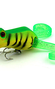 1 pcs Popper Random Colors 0.01 g Ounce mm inch,Plastic General Fishing
