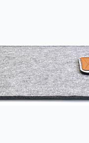 ullfilt deksel tilfelle 11 13 15 tommers beskyttende bærbar bag hylse for eple macbook luft pro retina bærbar tilfeller dekker