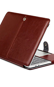For Macbook Retina 11.6 13.3 Tablet Luxury Ultra Slim Magnetic Folio Stand Crazy Horse Pattern Leather Case Cover