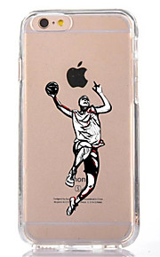For Transparent Pattern Case Back Cover Case Cartoon Man Soft TPU for IPhone 7 7Plus iPhone 6s 6 Plus iPhone 6s 6 iPhone 5s 5 5E 5C