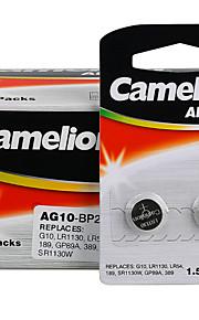camelion AG10 coin knoopcel alkaline batterij 1.5v 40 Pack