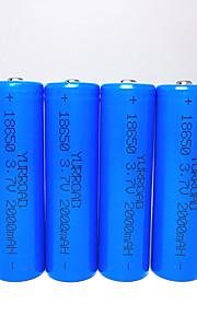 Beleuchtung Batterien Batteriehalterung Lumen Modus 18650 Wiederaufladbar Notfall Kompakte GrößeCamping / Wandern / Erkundungen Für den