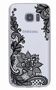 용 울트라 씬 패턴 케이스 뒷면 커버 케이스 기하학 패턴 소프트 TPU 용 Samsung S7 edge S7 S6 edge plus S6 edge S6 S5