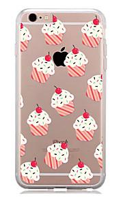 För Mönster fodral Skal fodral Kakel Mjukt TPU för AppleiPhone 7 Plus iPhone 7 iPhone 6s Plus/6 Plus iPhone 6s/6 iPhone SE/5s/5 iPhone 5c
