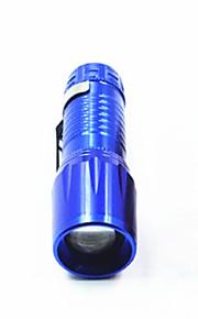 Aluminum Alloy Tube Telescopic 3 Stalls Bright LED Flashlight /1W/ Everyday Carry / Zoom