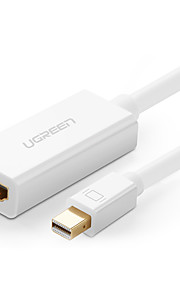 ugreen® Minidp Thunderbolt-Kabel männlich zu weiblich dp Konverter-Adapter Display-Port für PC macbook 1080p hdtv Projektor hdmi
