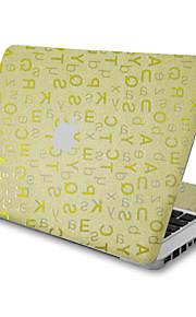 1 pezzo Anti-graffi 3D Di plastica trasparente Decalcomanie A fantasia PerMacBook Pro 15'' with Retina MacBook Pro 15 '' MacBook Pro 13''