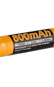 fenix 16650 700mAh 3.7v Li-Ion laddningsbart batteri-ARB-l16-700