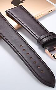 bandas men'swatch lona couro 20mm Assista Acessórios
