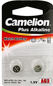 camelion ag3 coin knoopcel alkaline batterij 1.2V 2 Pack