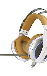xiberia v11 oraz zestaw słuchawkowy do gier led komputera Super Bass CASQUE wibrację dźwięku i blask pc gamer słuchawki z mikrofonem