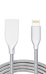 USB 2.0 Normalny/a Kable Na Apple iPhone iPad 98 cm Metal Aluminum