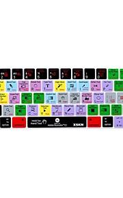 xskn® illustratore cc scorciatoia da tastiera in silicone pelle e protettore touchbar per il 2016 nuovi MacBook Pro 13.3 / 15.4 con touch