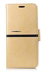 용 카드 홀더 지갑 스탠드 플립 케이스 풀 바디 케이스 단색 하드 인조 가죽 용 OnePlus One Plus 3