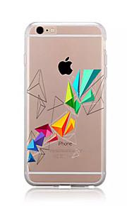 För Mönster fodral Skal fodral Geometriska mönster Mjukt TPU för AppleiPhone 7 Plus iPhone 7 iPhone 6s Plus/6 Plus iPhone 6s/6 iPhone