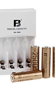 fb fb12 aa NiMH oplaadbare batterij 1.2V 2300mAh 4 stuks