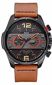 Masculino Infantil Relógio Esportivo Relógio Militar Relógio Elegante Relógio de Moda Relógio de Pulso Quartzo Japonês Punk Couro Legitimo