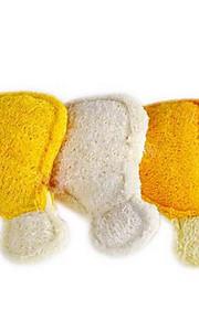 Игрушка для собак Игрушки для животных Жевательные игрушки Игрушка для очистки зубов Мочалки и губки Текстиль Оранжевый