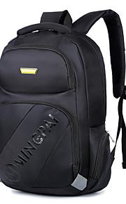 15.6 Inch Laptop Bags Snowflake Cloth Computer Shoulder Bag for Men