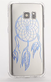 ForSamsung S7 edge S7 Shockproof Pattern Case Back Cover Case Dream Catcher Soft TPU  S6 S5