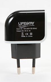 Caricabatterie portatile Per iPad Per cellulare Per tablet 2 porte USB Presa EU