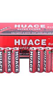 HUACE AA Alkaline/Alkaline Zinc Battery 1.5V 40 Pack