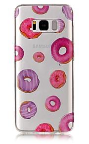 ל IMD שקוף תבנית מגן כיסוי אחורי מגן אוכל רך TPU ל Samsung S8 S8 Plus S7 edge S7 S6 edge S6 S5