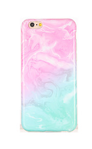 Para IMD Diseños Funda Cubierta Trasera Funda Gradiente de Color Suave TPU para AppleiPhone 7 Plus iPhone 7 iPhone 6s Plus iPhone 6 Plus