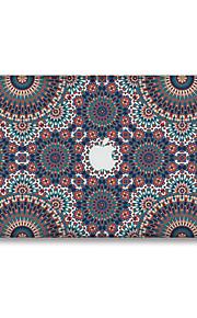 1 stk Ridsnings-Sikker Geometrisk Transparent plastik Klistermærke Selvlysende Mønster ForMacBook Pro 15'' with Retina MacBook Pro 15 ''