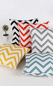 1 stk Chenille Putevar,Stripete Geometrisk Moderne / Nutidig Traditionel / Klassisk