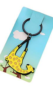 Schlüsselanhänger Schlüsselanhänger Gelb Plastik