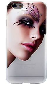 Per Effetto ghiaccio Traslucido Fantasia/disegno Custodia Custodia posteriore Custodia Sexy Morbido TPU per AppleiPhone 7 Plus iPhone 7