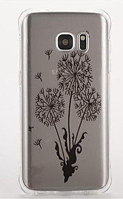 For Samsung S7 edge S7 Shockproof Pattern Case Back Cover Case Flower Soft TPU   S6 S5