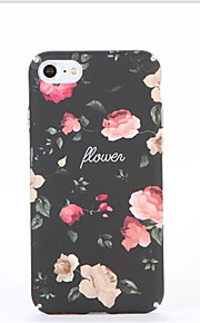 Voor Patroon hoesje Achterkantje hoesje Bloem Hard PC voor Apple iPhone 7 Plus iPhone 7 iPhone 6s Plus iPhone 6 Plus iPhone 6s Iphone 6