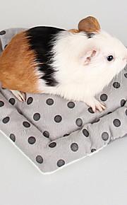 Roedores Conejos Chinchillas Camas Portátil Plegable Ajustable Múltiples Funciones Algodón Gris