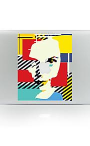 1枚 傷防止 Appleロゴアイデアデザイン 透明ベースプラスチック ボディーステッカー パターン 発光性 のためにMacBook Pro 15'' with Retina MacBook Proの15 '' MacBook Pro 13'' with Retina