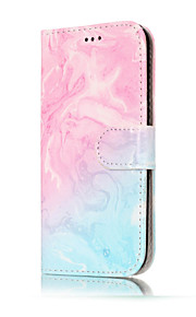 For Samsung Galaxy A5(2017) A3(2017) PU Leather Material Double Sided Marble Pattern Painted Phone Case A5(2016) A3(2016)