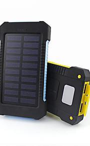 10000mAh전원 은행 외부 배터리 태양열 충전 멀티 출력 플래쉬 라이트 방수 10000 3100 태양열 충전 멀티 출력 플래쉬 라이트 방수