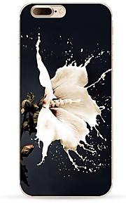 För Mönster fodral Skal fodral Blomma Mjukt TPU för AppleiPhone 7 Plus iPhone 7 iPhone 6s Plus iPhone 6 Plus iPhone 6s iPhone 6 iPhone