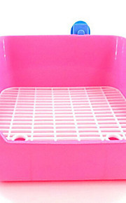 Roedores Conejos Chinchillas Limpieza A Prueba de Agua Portátil Plegable Ajustable Múltiples Funciones Plástico Azul