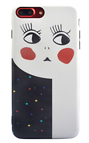 For Apple iPhone 7 7 Plus 6S 6 Plus Case Cover Cartoon Pattern Thicker TPU Material IMD Process Soft Case Phone Case