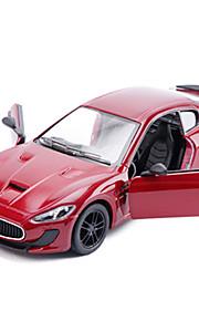 Macchina da corsa Veicoli a molla Giocattoli Car 1:28 ABS Rosso Nero Blu Modellino e gioco di costruzione