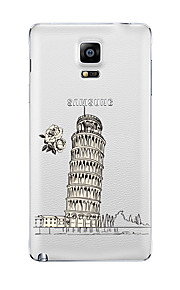 For Samsung Galaxy Note5 Note 4 Pattern Case Back Cover Case City View TPU Samsung  Note 3 Note2