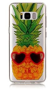 ל IMD שקוף תבנית מגן כיסוי אחורי מגן פירות רך TPU ל Samsung S8 S8 Plus S7 edge S7 S6 edge S6 S5