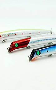 3 pcs Fishing Lures Pencil Random Colors g/Ounce mm inch,Plastic General Fishing