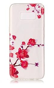 ל IMD שקוף תבנית מגן כיסוי אחורי מגן פרח רך TPU ל Samsung S8 S8 Plus S7 edge S7 S6 edge S6 S5